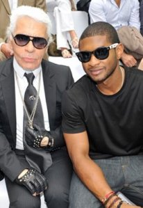 Usher KarlLagerfield